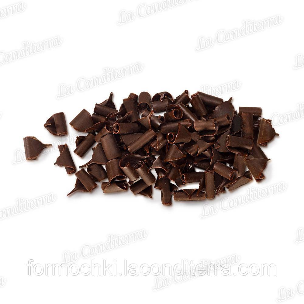 Шоколадная стружка черный шоколад (0,2 кг)