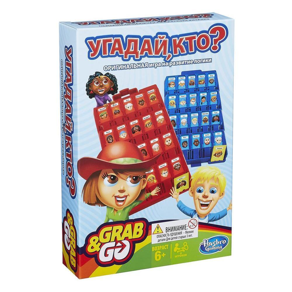 """Настільна гра для дітей Hasbro Games """"Вгадай хто?"""" від 6 років"""