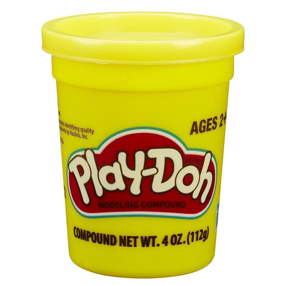 Play Doh Плей-До 1 Баночка пластилина (в ассорт.) (Желтый)