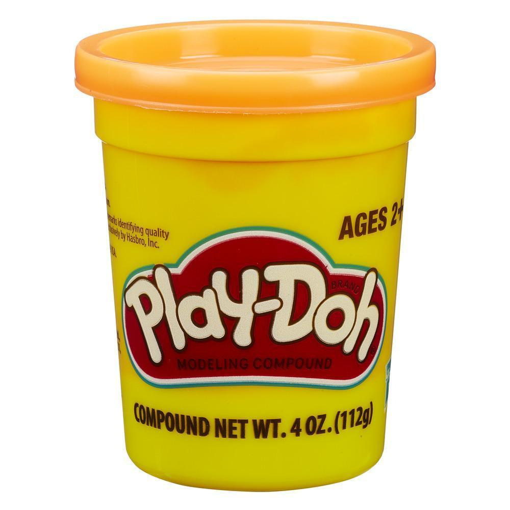 Play Doh Плей-До 1 Баночка пластилина (в ассорт.) (Оранжевый)