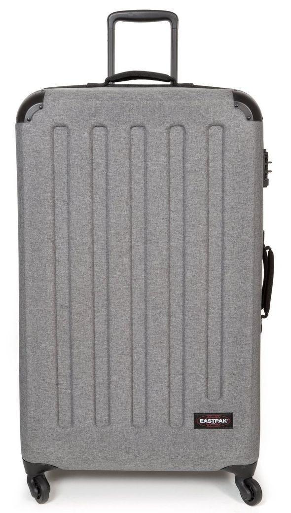Большой пластиковый чемодан Eastpak Tranzshell Xl 91 л, серый