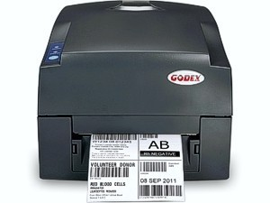 Принтер этикеток Godex G 530 UP (USB+Parallel) 300dpi