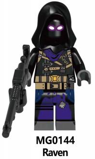 Минифигурка Рэйвена Raven Fortnite Аналог лего