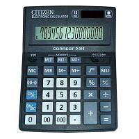 Калькулятор бухгалтерский  Citizen 16  разрядный