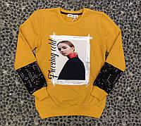 Тонкий свитер оптом для девочек от 10 до 13 лет., фото 1