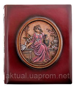 Фотоальбом «Афродита» в кожаном переплете