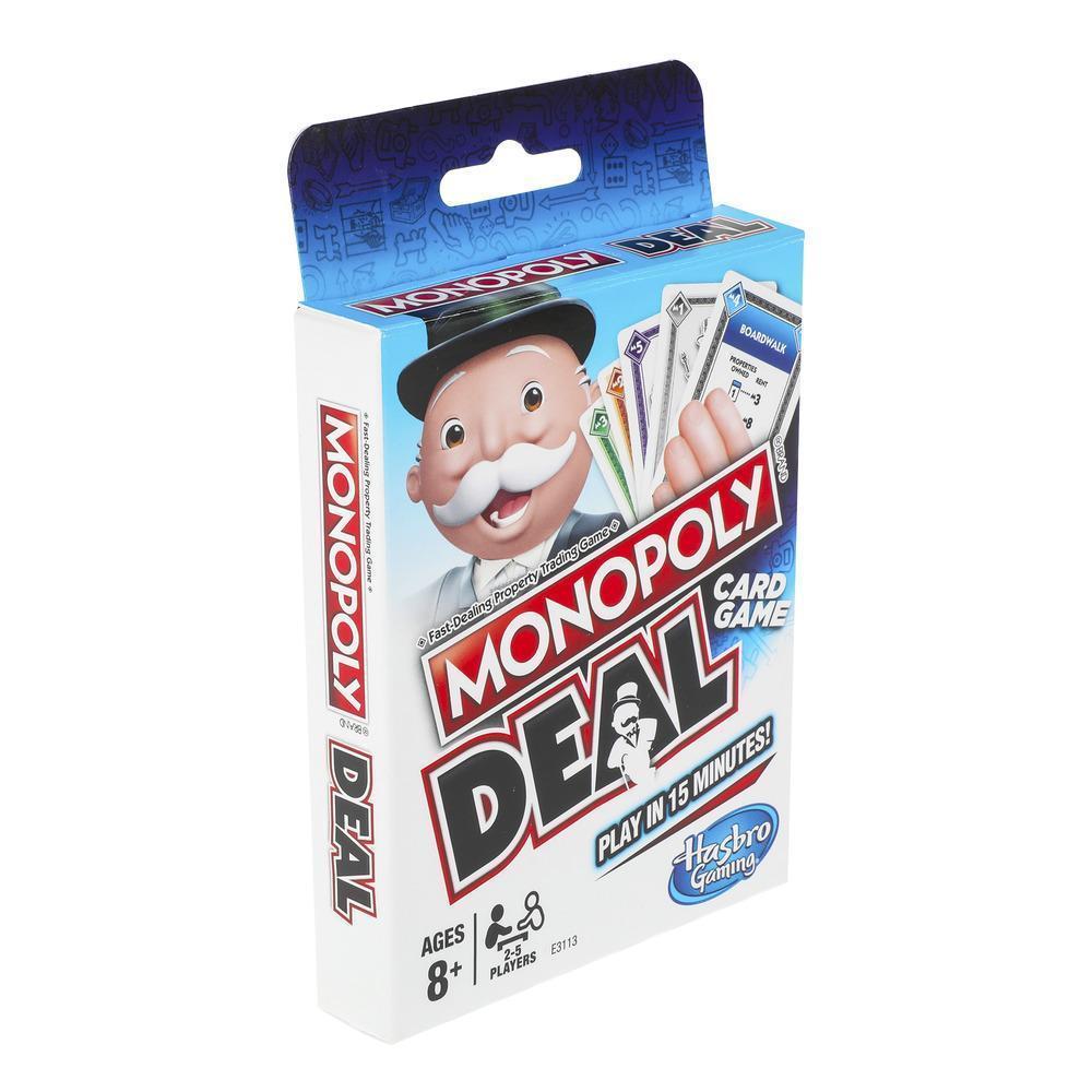 Настольная игра Hasbro MONOPOLY карточная Монополия Сделка  для детей от 8 лет