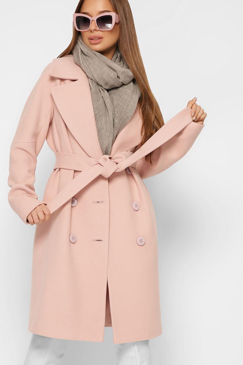 Пальто  кашемировое с 42 по 48 размер