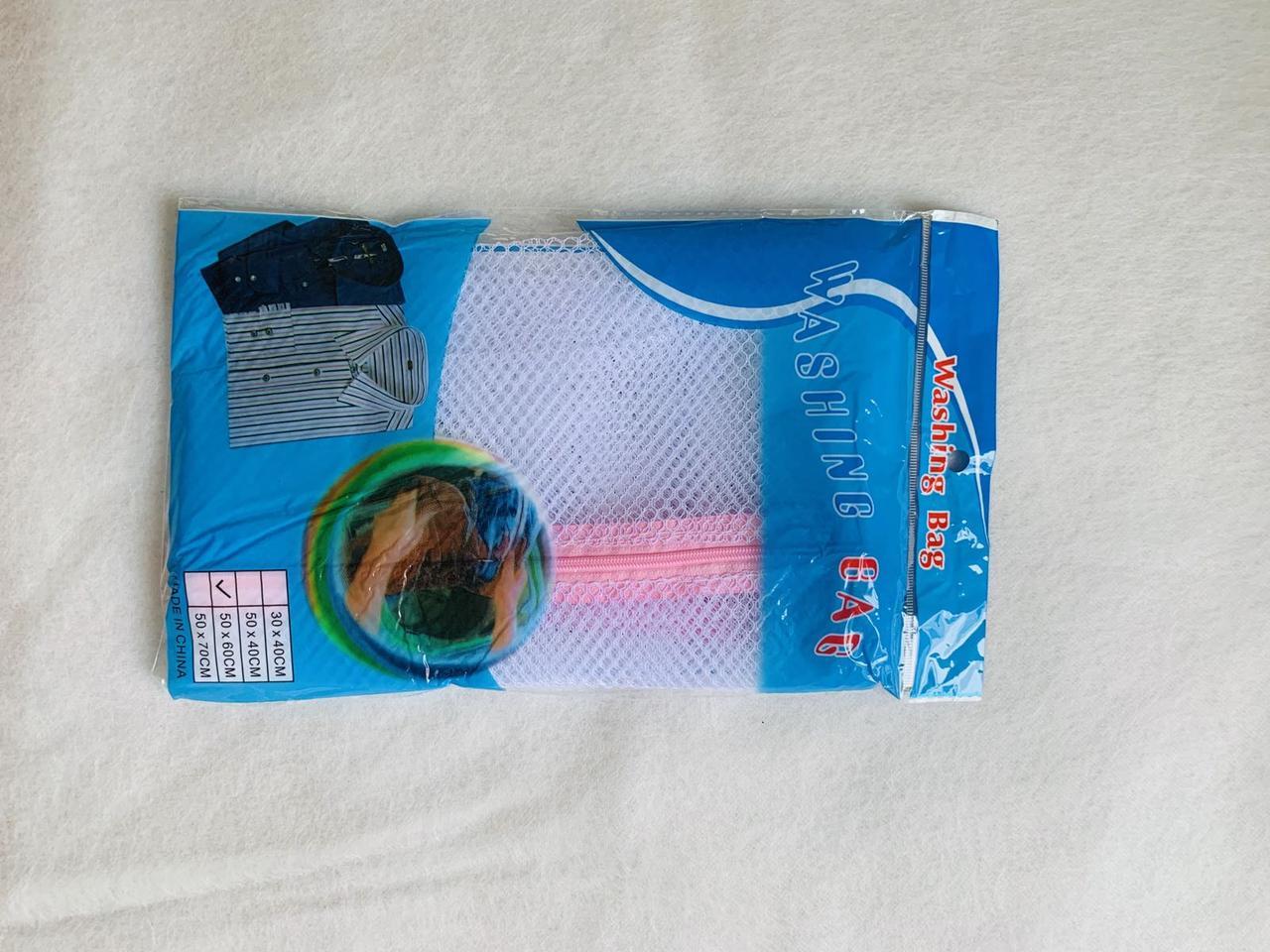 Мешок для стирки белья 50*60 см 1 штука