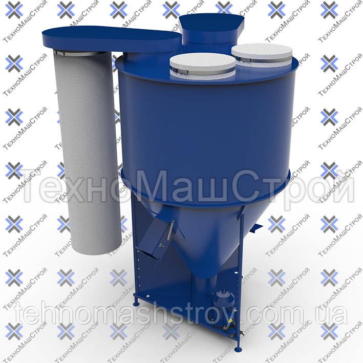 Кормосмеситель «КС-1000» боковые фильтра