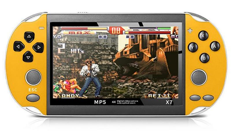 Портативна ігрова приставка консоль PSP X7 Yellow