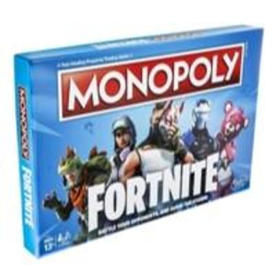 Настольная игра Hasbro MONOPOLY Монополия Фортнайт (англ.) · для детей от 13 лет и взрослых