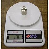 Электронные кухонные весы SF-400 с LCD дисплеем (1г.-10000г.)⚖️, фото 3