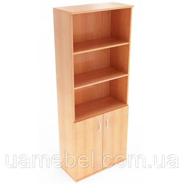 Офисный шкаф для бумаг (720х1823) Бюджет Б-601+703