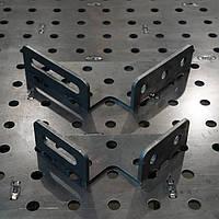 Угольник 90° 150 х 150 х 60 ммдля сварочного стола Workroom сталь 6 мм