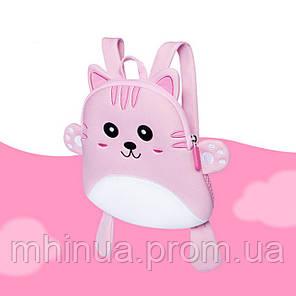 Дитячий рюкзак Nohoo Кішечка Рожева (NH055 Pink), фото 2