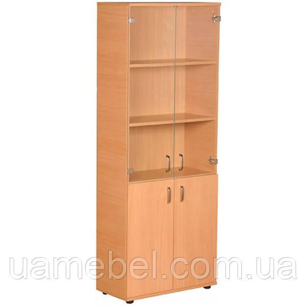 Офисный шкаф для бумаг (720х1823) Бюджет Б-601+703+801