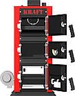 Отопительный твердотопливный котел KRAFT 24 кВт, фото 4