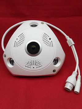 Wi-Fi / IP Панорамна камера 3D XPX 360 градусів IP66