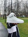 Кроссовки  высокие натуральная кожа Nike Air Force Найк Аир Форс, фото 2