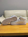 Кроссовки  высокие натуральная кожа Nike Air Force Найк Аир Форс, фото 6