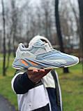 Кроссовки натуральная кожа Adidas Yeezy Boost 700 Адидас Изи Буст, фото 2