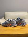 Кроссовки натуральная кожа Adidas Yeezy Boost 700 Адидас Изи Буст, фото 5