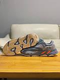 Кроссовки натуральная кожа Adidas Yeezy Boost 700 Адидас Изи Буст, фото 6