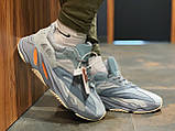 Кроссовки натуральная кожа Adidas Yeezy Boost 700 Адидас Изи Буст, фото 10