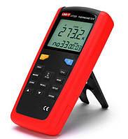 Термометр UNIT UT321 (-250~1372℃) з термопарою К-типу і сумісністю з термопарами J,T і E типів, ЗА