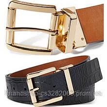 Ремінь жіночий Michael Kors Reversible cros-embossed belt