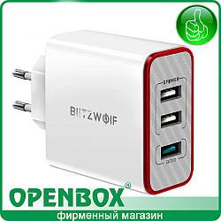Зарядное Устройство BW-PL2 30W 3xUSB QC3.0