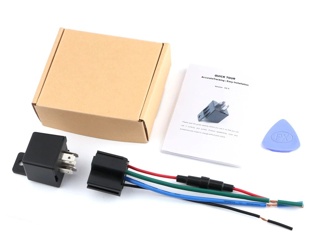 GPS Tracker Реле MV720