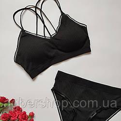 Комплект нижнего белья (9904/черный)