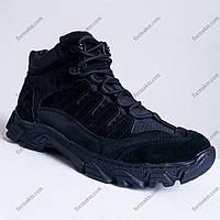 Тактические Ботинки, Полуботинки Зимние Alpha Black, фото 1