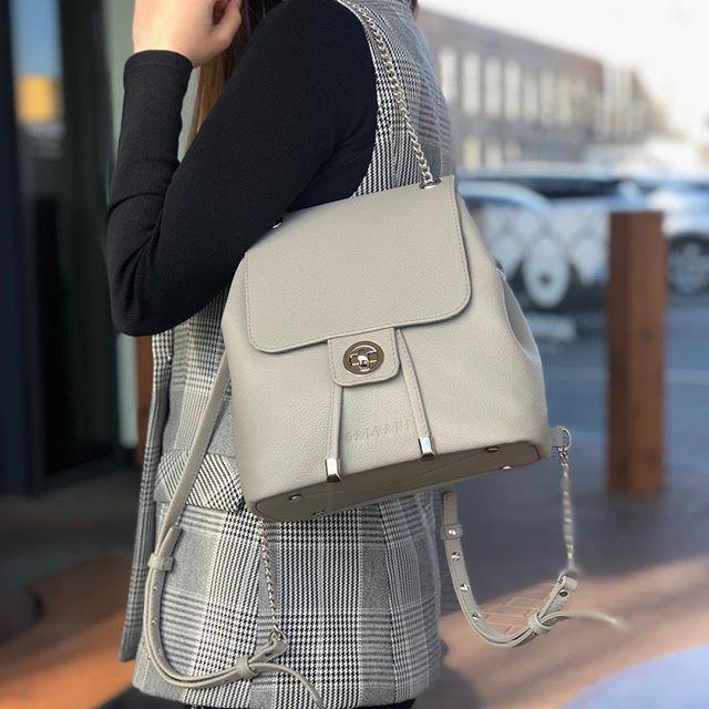 Женский кожаный рюкзак MANCHESTER