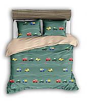 Полуторный комплект постельного белья 150*220 сатин (13436) TM КРИСПОЛ Украина