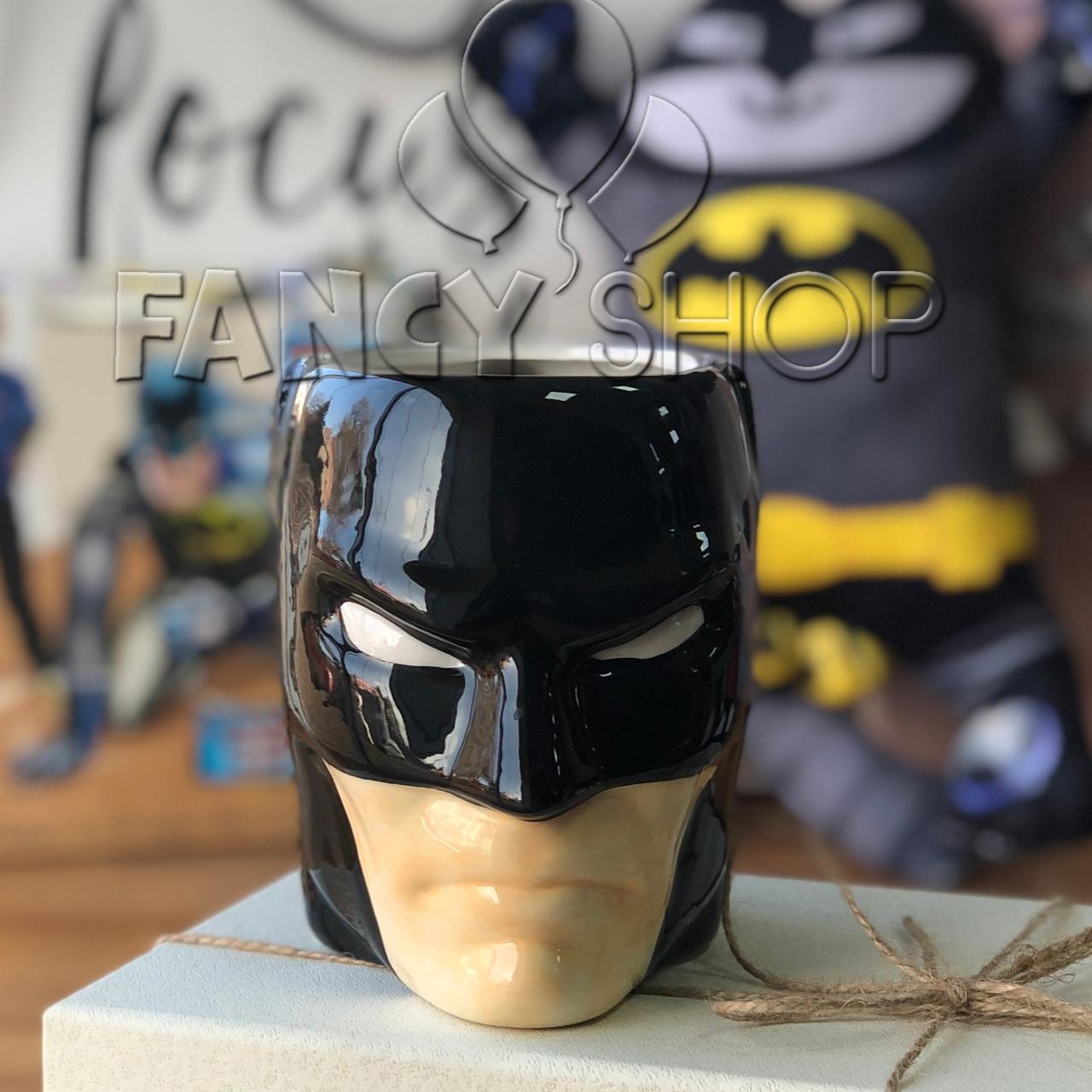 """Чашка фігурна """"Бетмен"""", супергерої, Кружка керамическая """"Batman"""""""