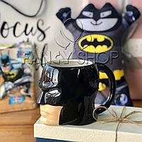 """Чашка фігурна """"Бетмен"""", супергерої, Кружка керамическая """"Batman"""", фото 2"""