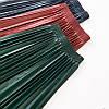 Плиссированная кожаная женская юбка 40-44 (в расцветках), фото 7