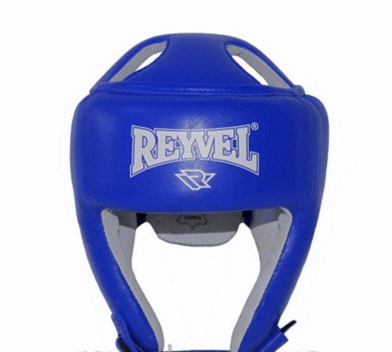 Шлем боксерский Reyvel кожа