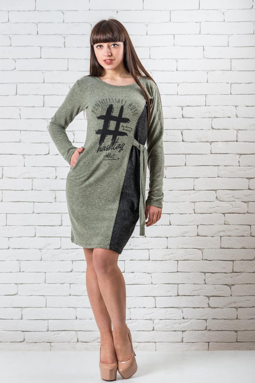 Шикарное платье  женское повседневное M,L,XL хаки