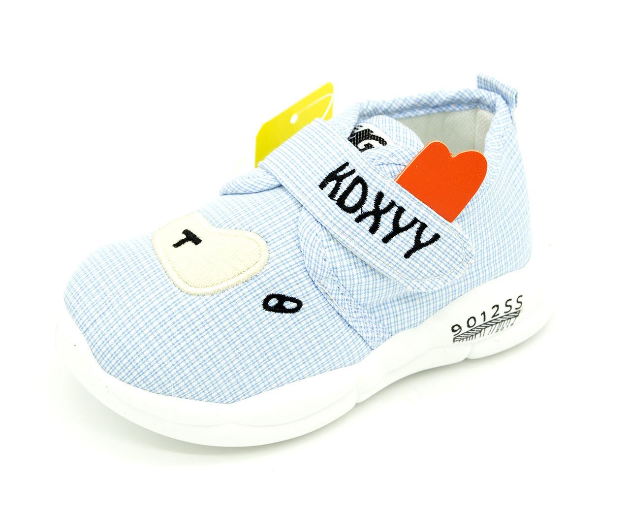 Кросівки для хлопчика Голубий Розміри: 16, 18, 20, 21
