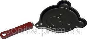 Сковорода  фігурна Mini 13см з антипригарним покриттям 40000049 PN-04-11
