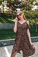 Женское Летнее Платье принт, фото 1