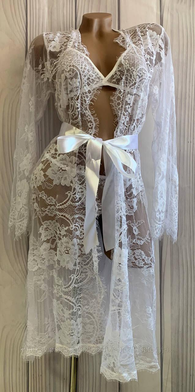 Ажурный комплект на утро невесты