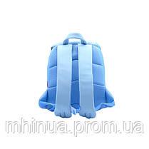 Дитячий рюкзак Nohoo Зайчик, Середній розмір (NH042M Blue), фото 3