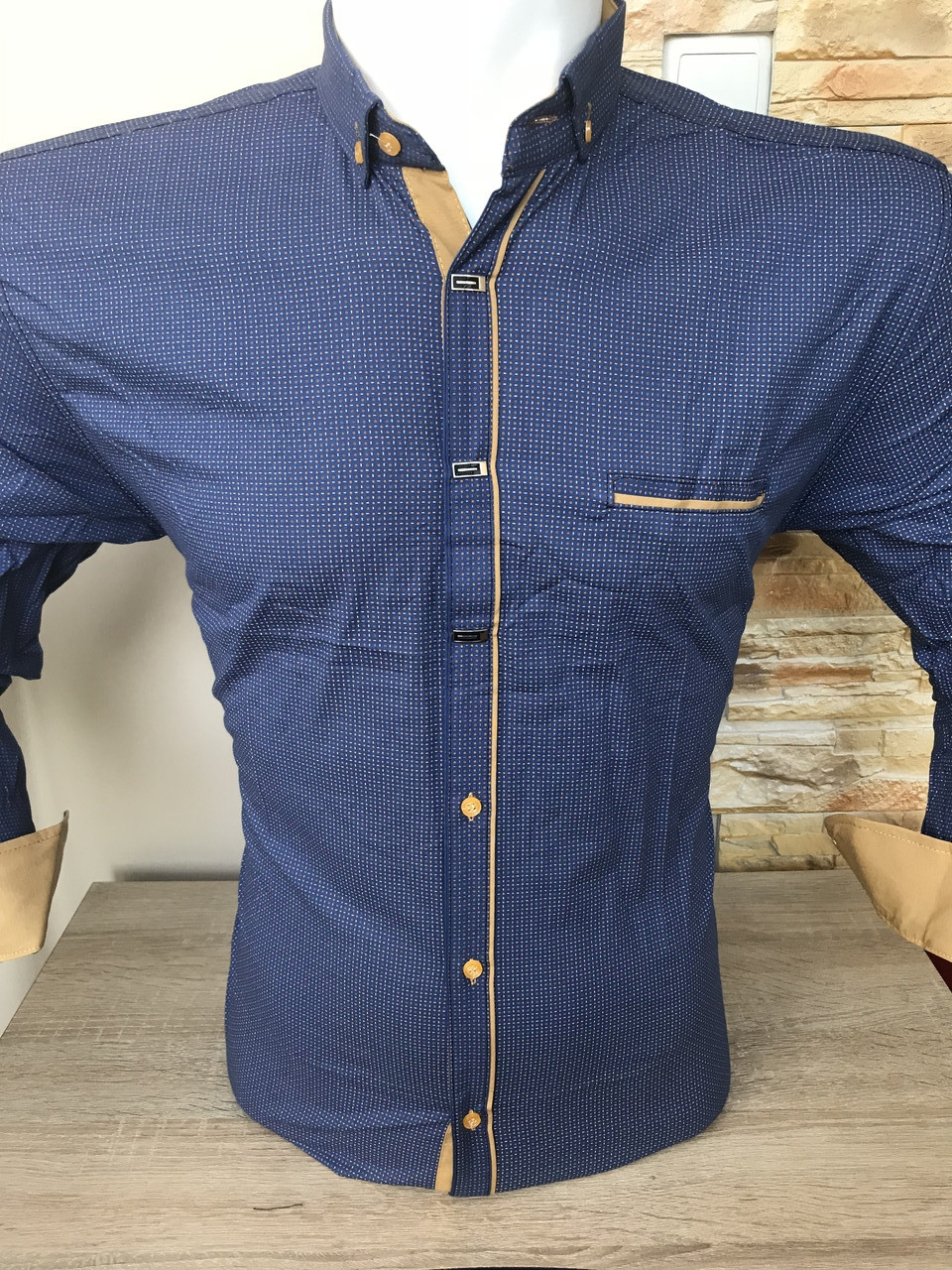 Рубашка длинный рукав AND (010)