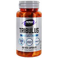 Бустер тестостерона Now Foods Tribulus500 мг 100 капсул