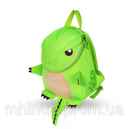 Детский рюкзак Nohoo Tyrannosaurus Style Тиранозавр Рекс, Большой размер (NH029L Green), фото 2